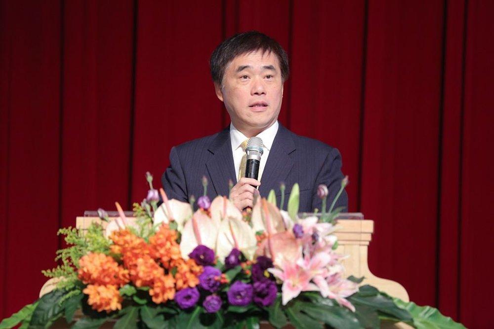 ▲前台北市長郝龍斌致開幕詞