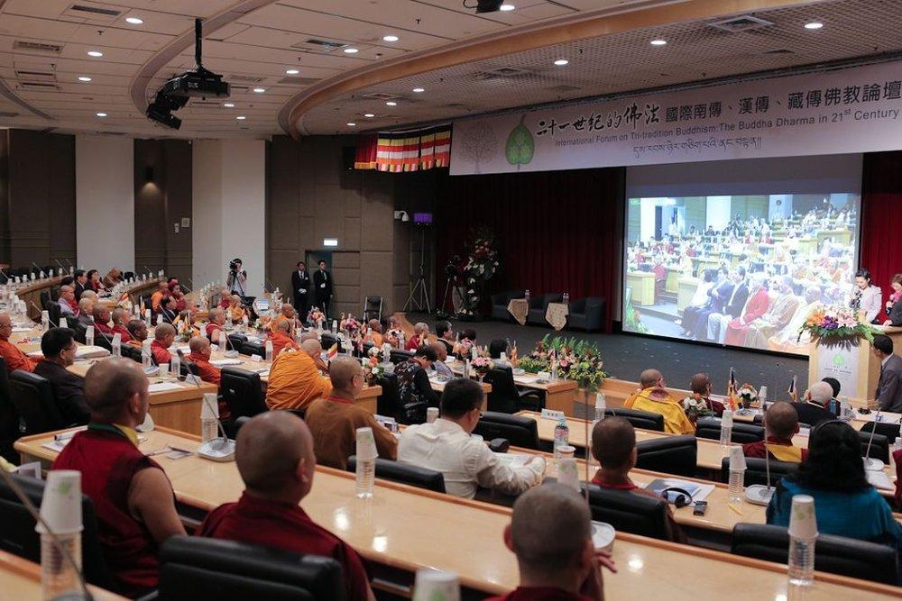 ▲三傳佛教論壇 - 二十一世紀的佛法