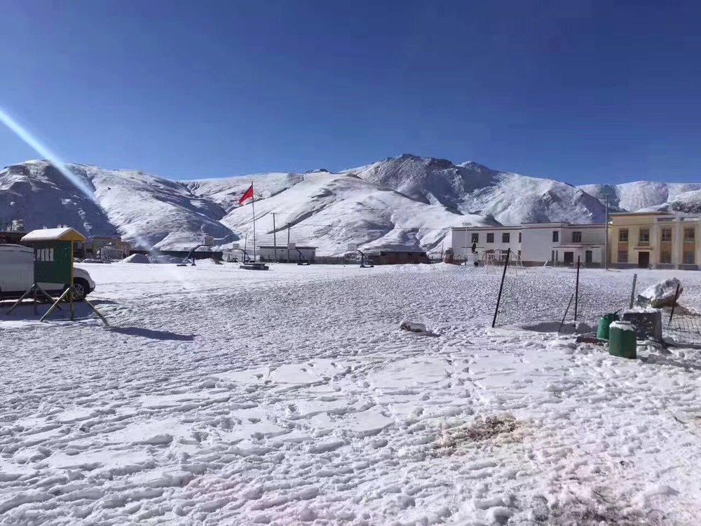 慈智學校 冬景