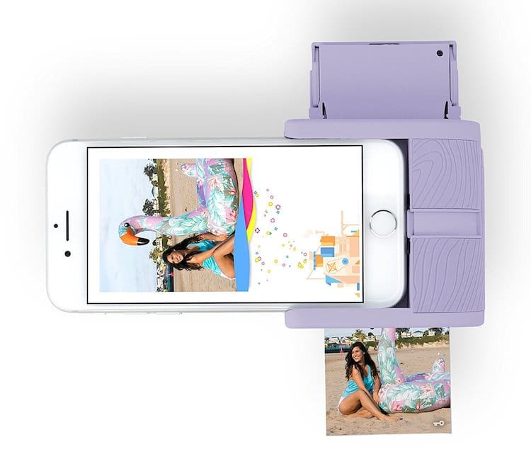 Prynt Pocket Smartphone Photo Printer - It's user friendly and she can print from her phone instantly!Available at Urban Outfitters $150