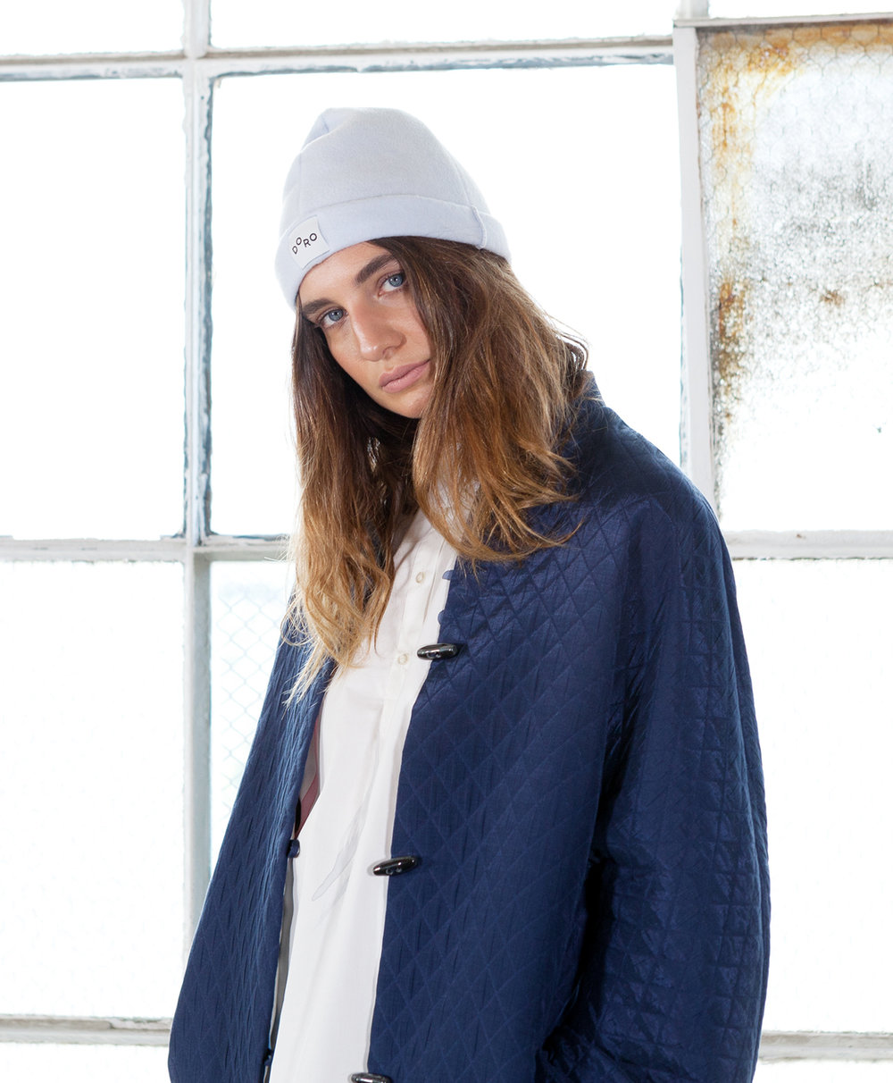 ONEOF_ - Doro's AW17 collection ONE OF is an ode to trans-seasonal dressing. Made using Japanese fabrics, the collection focuses on easy-to- wear, updated basics with loose silhouettes. The collection centres on everyday wearability, with the relaxed pieces making for cool weather essentials and encouraging playful styling.All of the garments in this collection are limited. All DORO pieces are designed and made in Melbourne.