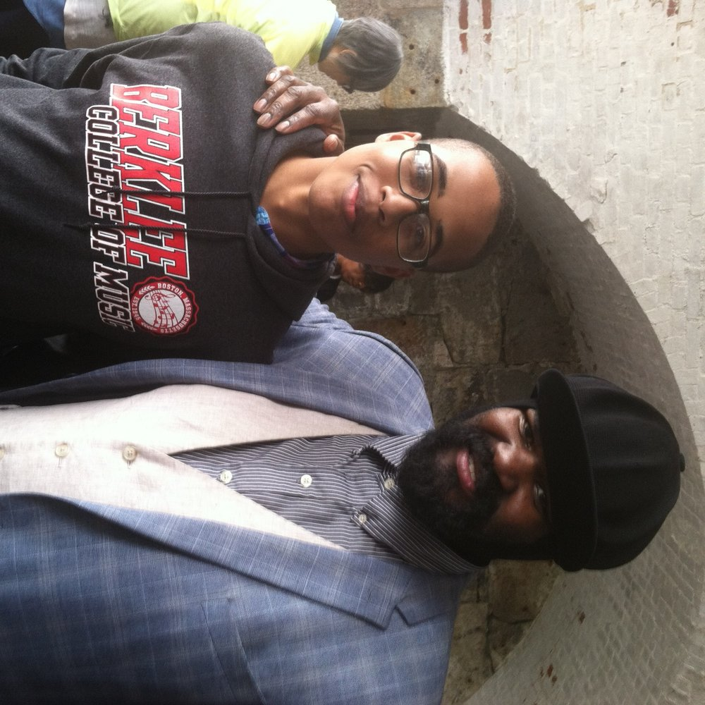 Zach and Gregory Porter
