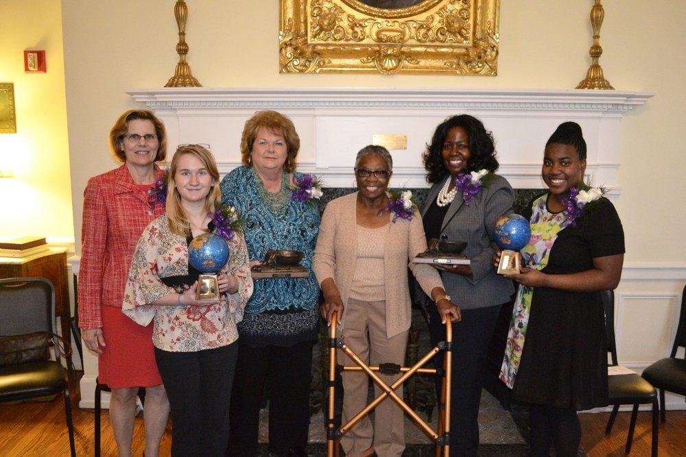 Mrs. Katherine Hutto, Ms. Rachel Hoy, Mrs. Susan Joanis, Mrs. Zelma Redding, Ms. Brooke Bosley