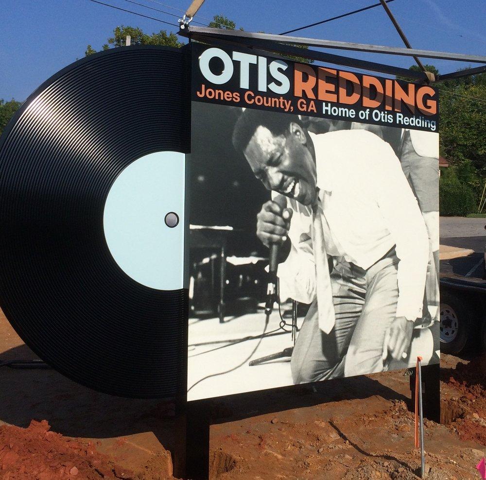 Otis Redding Memorial Marker Front Sneak
