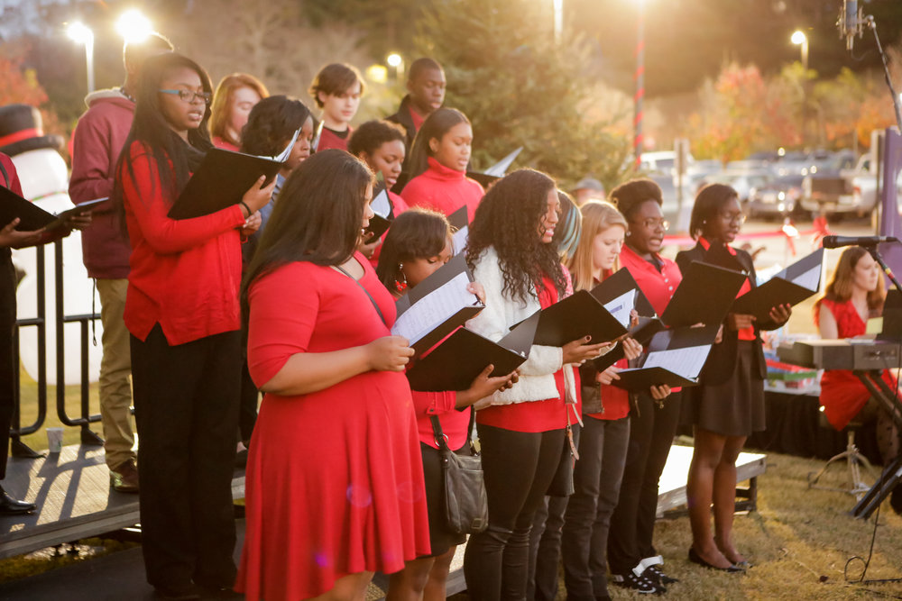 DREAM Choir Coliseum Tree Lighting 2015 4.jpg