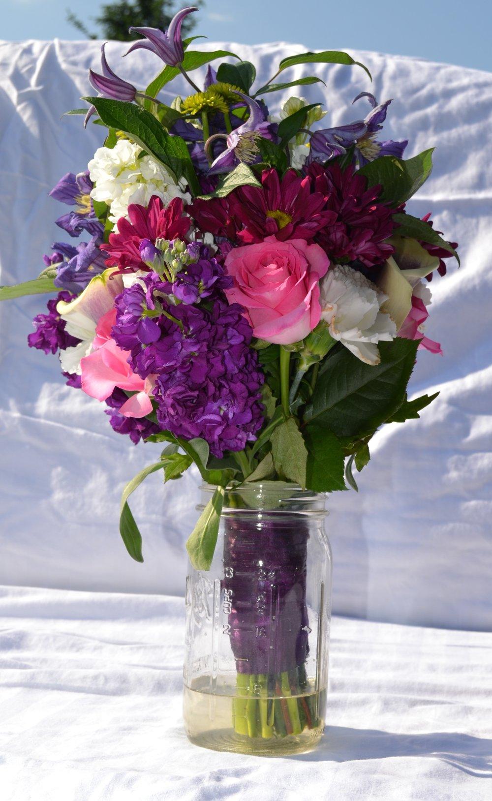 Wedding Flowers Glade Link Farms