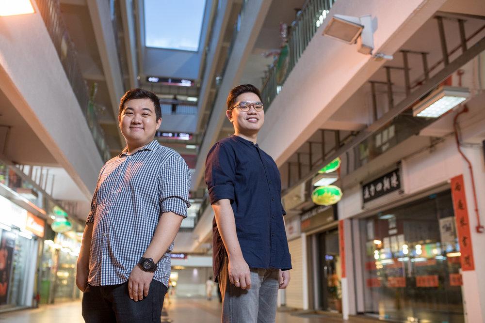 Ang Jin Yong and Andy Ang of TrendLit.