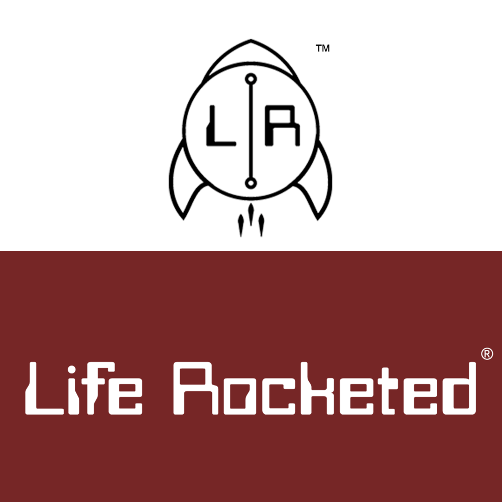 Life Rocketed® is a life-inspired product company. The logo needed to be a solid representation of the name itself and what the brand wanted people to feel. The brand wants all significant things in a person's life to be rocketed to the highest point imaginable.