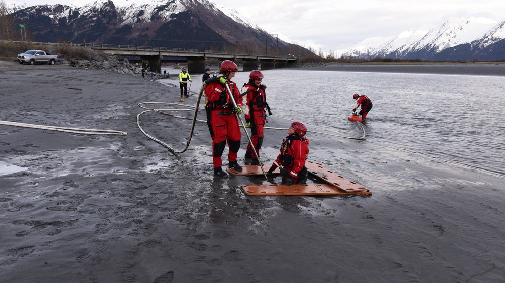 Mud Rescue Training