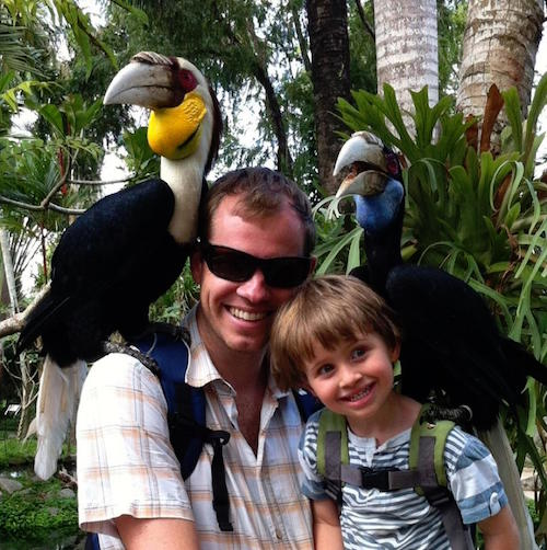 Bali Bird Reptile Parks Real Travel Kids