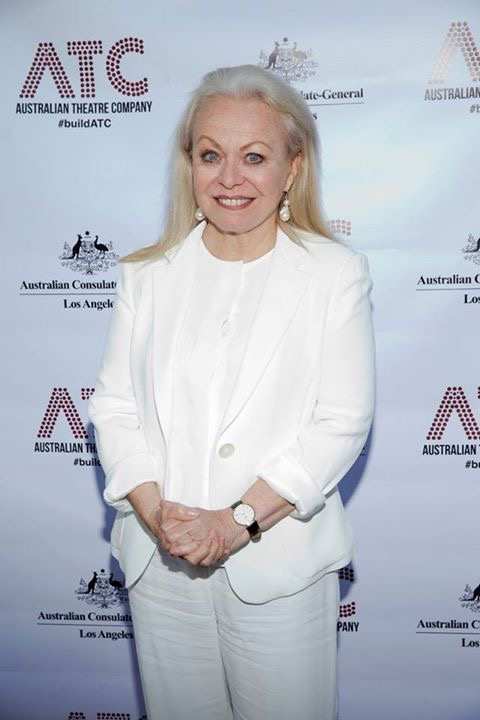 Actress Jacki Weaver attending opening night of  Ruben Guthrie .