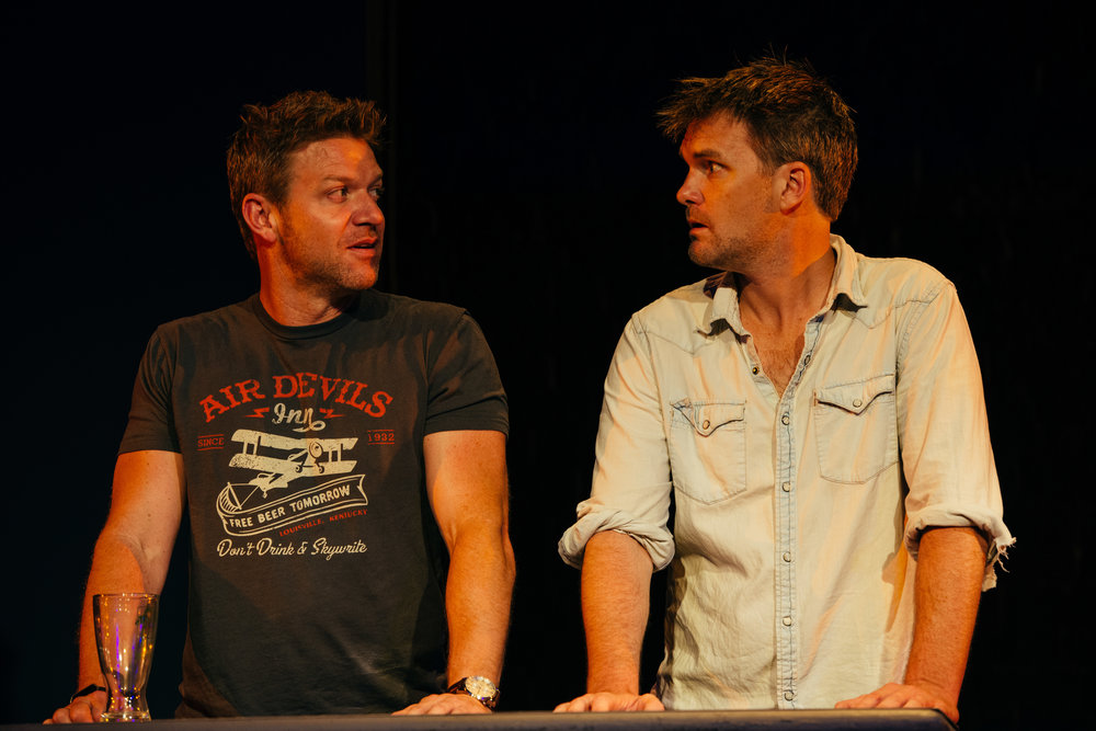 Matt Passmore and Jamie Irvine.
