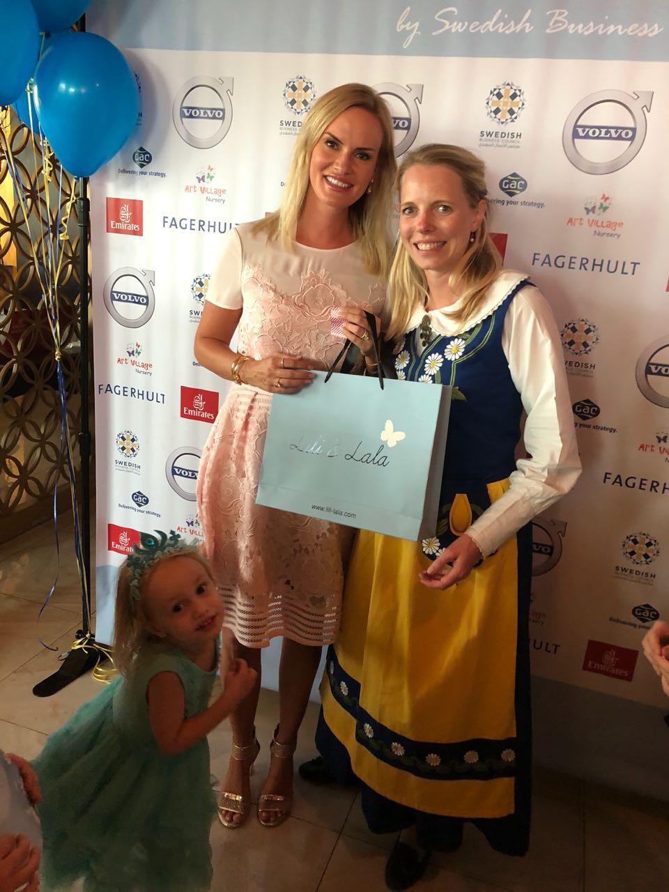Lisette Ullman won the Lili & Lala prize!