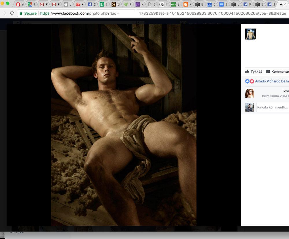 Tämä kuva ei ole lian eroottinen julkaistavaksi facebookissa.