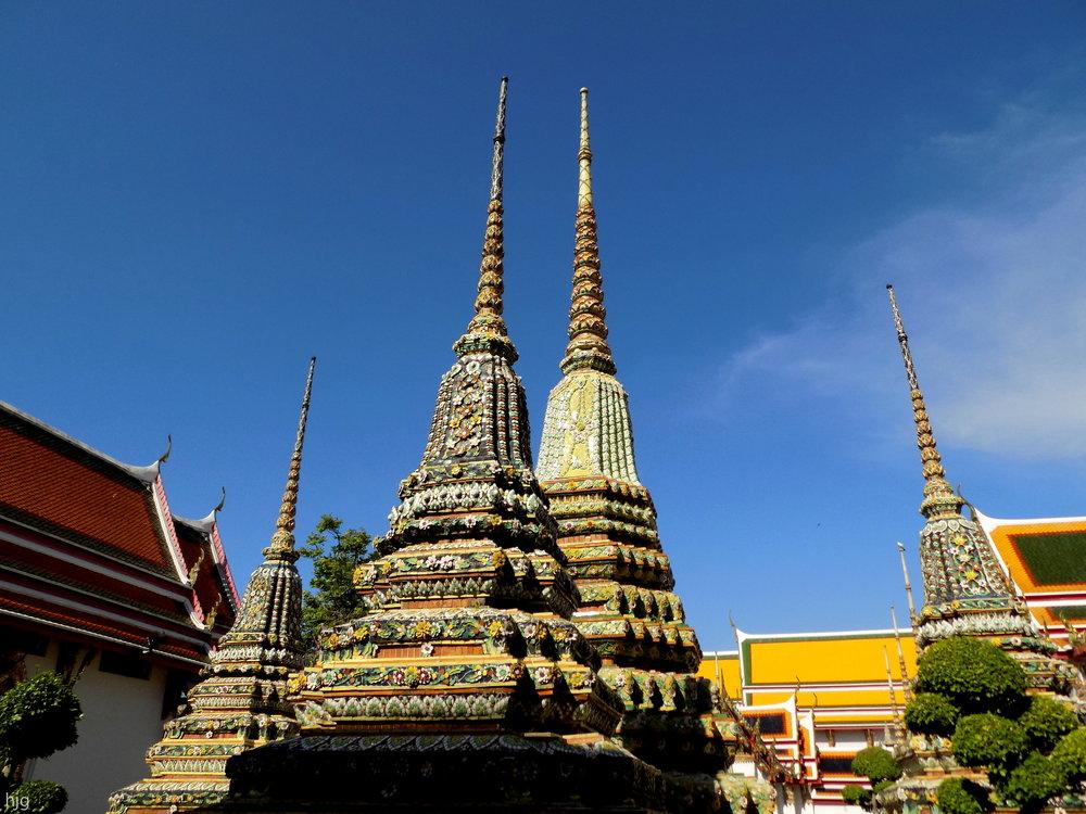wat pho temple thailand