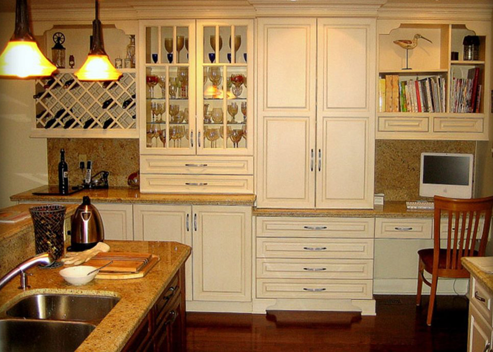 Custom and factory made cabinets