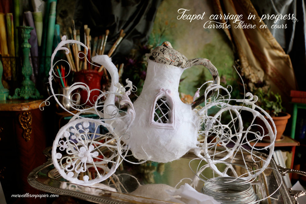 Teapot Carriage