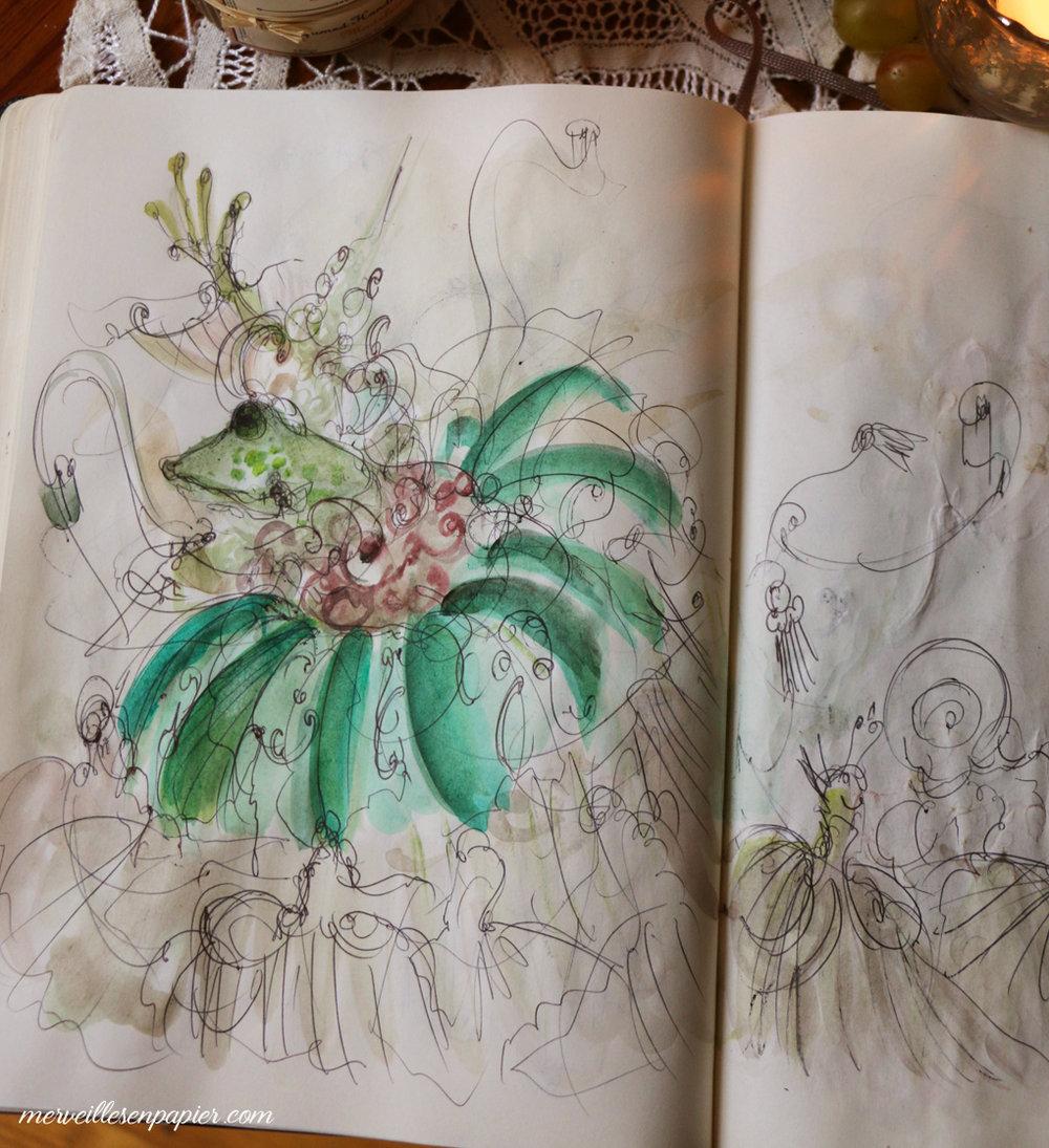 grenouille bienfaisante comtesse d'aulnoy
