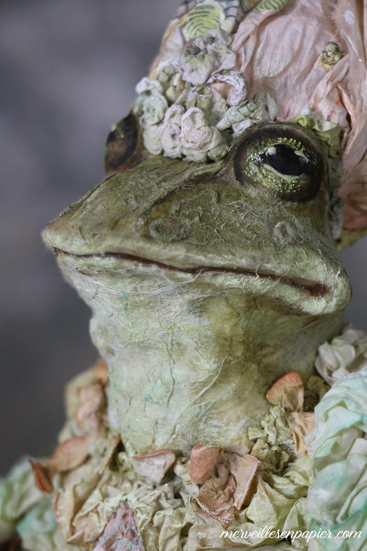 La grenouille Bienfaisante Madame d'Aulnoy