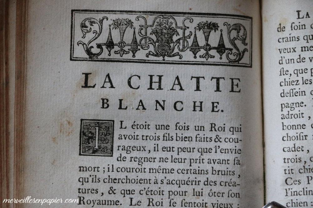 La Chatte Blanche Madame d'Aulnoy