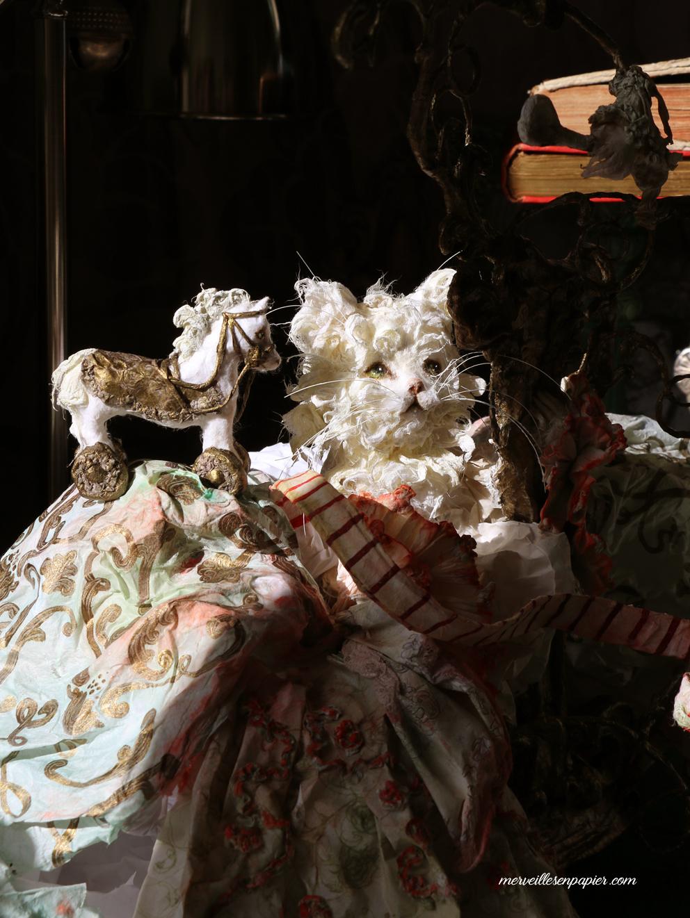 White cat -Madame d'Aulnoy
