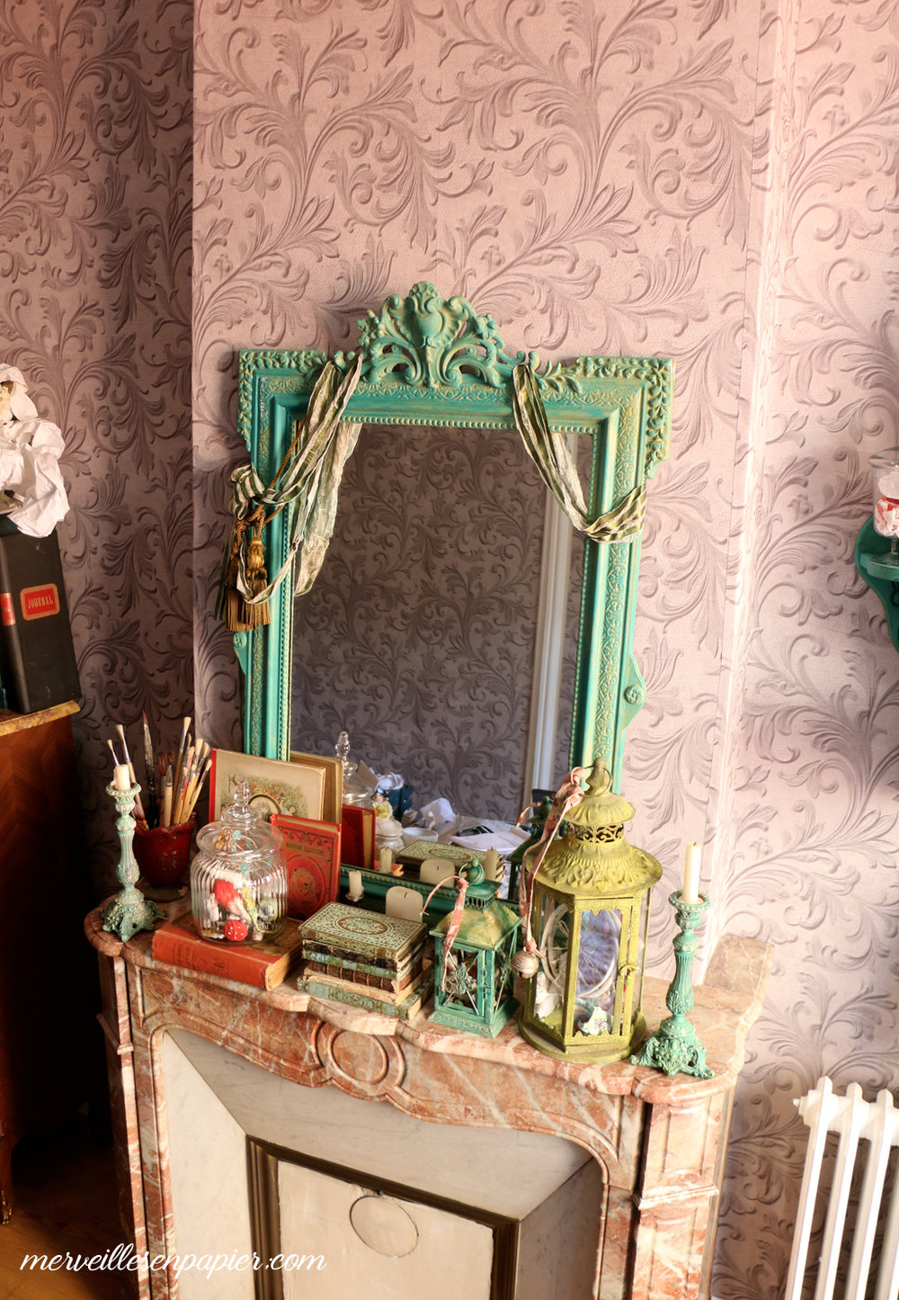 My studio, fairy tale castle style