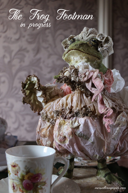 The frog footman- Alice in wonderland