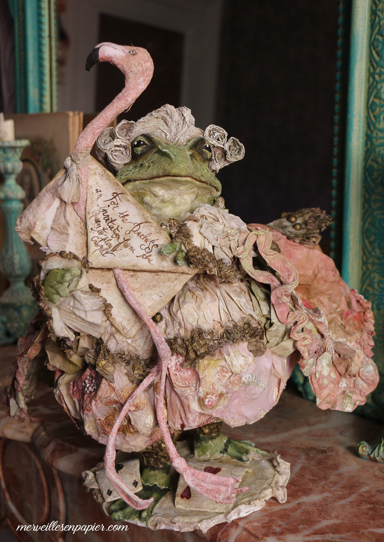Frog footman -Alice in  Wonderland