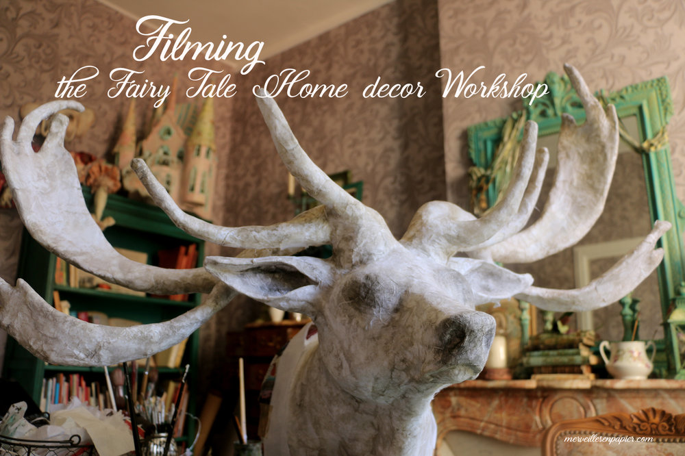 fairy tale home decor Workshop