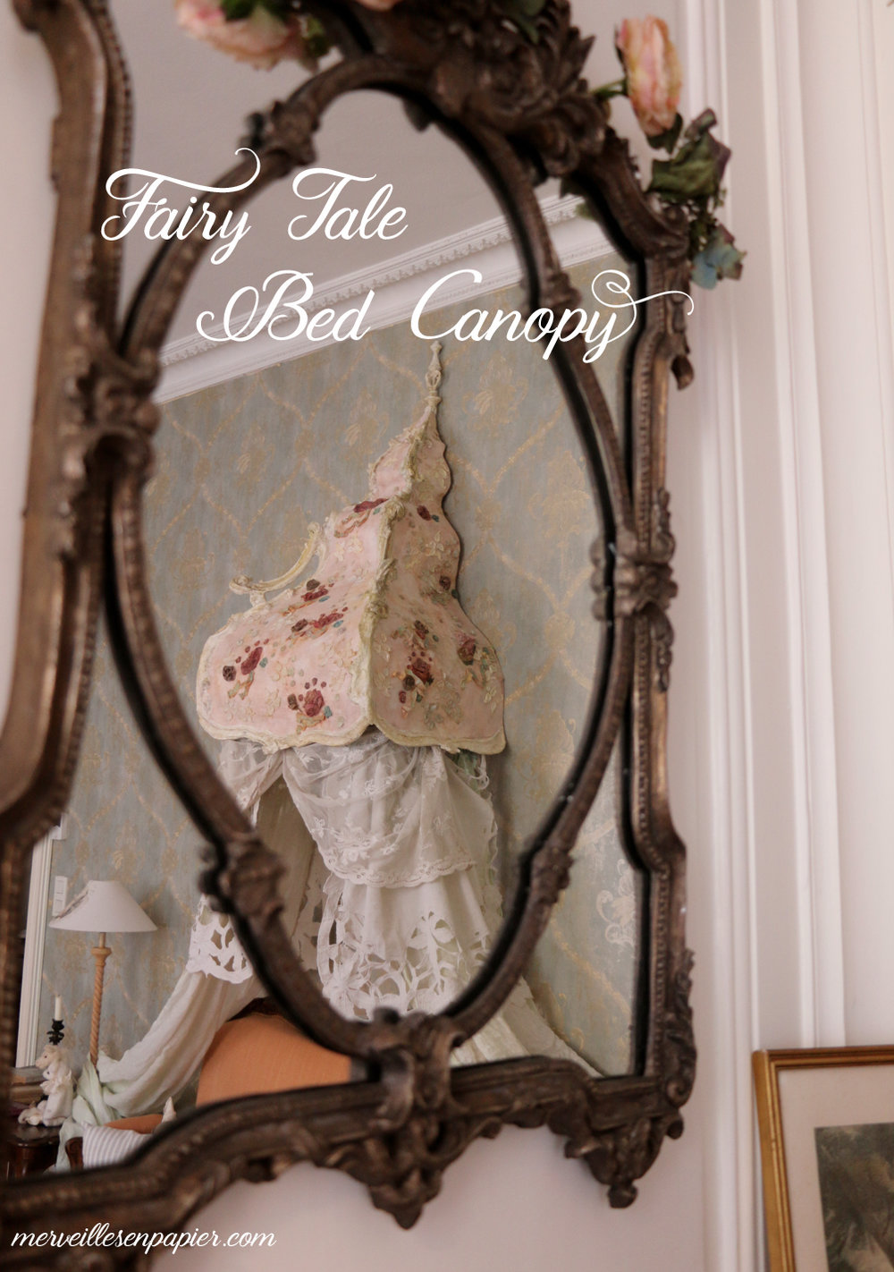 Fairy tale bed Canopy- Fairy Tale Decor Workshop