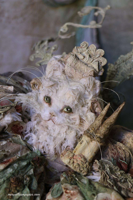 White Cat- madame d'Aulnoy