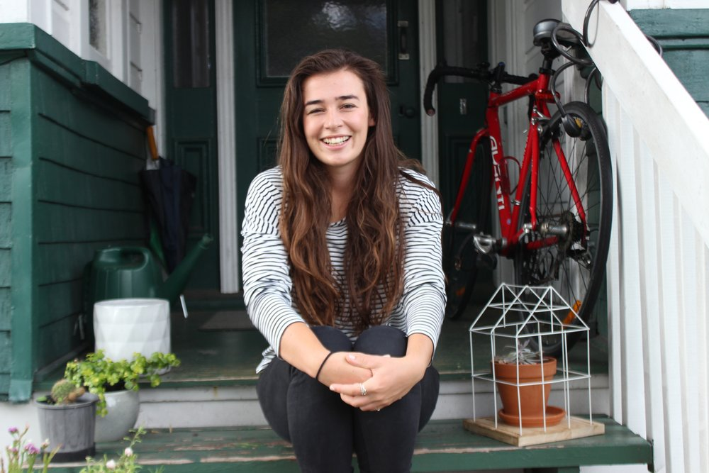 Lucy McSweeney - Lucy, 21, is leading a campaign on OurActionStation to bring mental health education into schools.