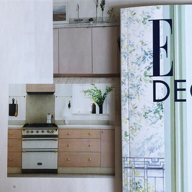 So pleased to be featured in this months @elledecorationuk kitchen guide! Big thank you to the team for including us. #dominolocationhouse #locationhouse #londonlocationhouse #interiors #kitchen #pink #brass 📸 @oli_douglas