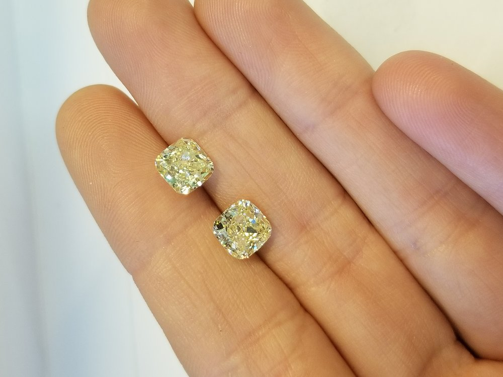 Quick Facts - About Yellow Diamonds
