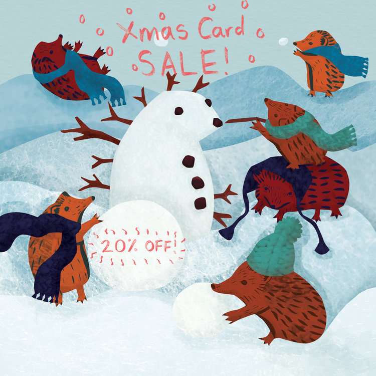 My Etsy Shop - Christmas Card SALE, and my plans for 2018! — Emma ...