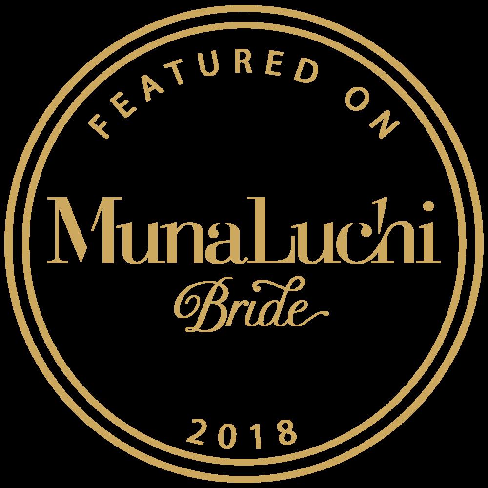 Featured on MunaLuchi Bride