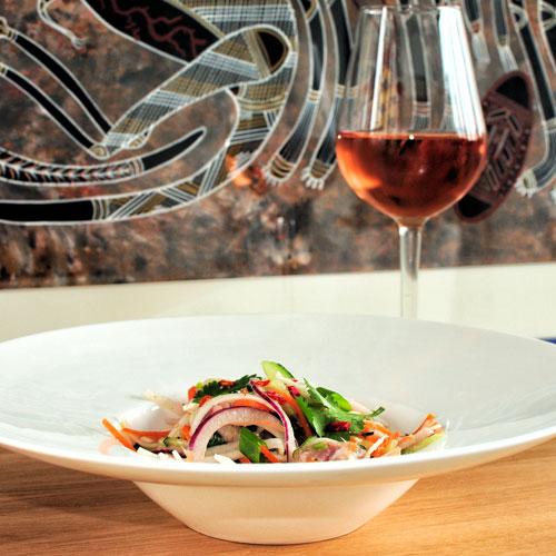 Salade tahitienne à la chinoise