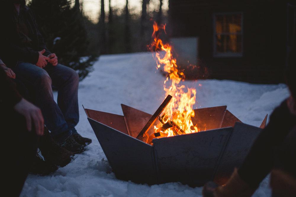 Steel Fire-pit