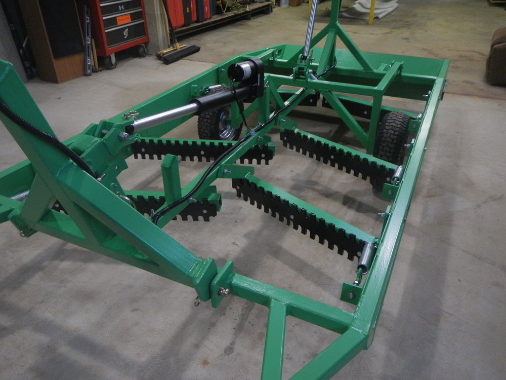 Designed and Fabricated Hydraulic Snowmobile Trial Groomer
