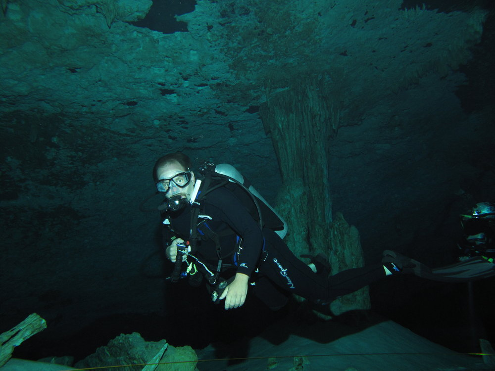 Back to dive where it started in Dos Ojos