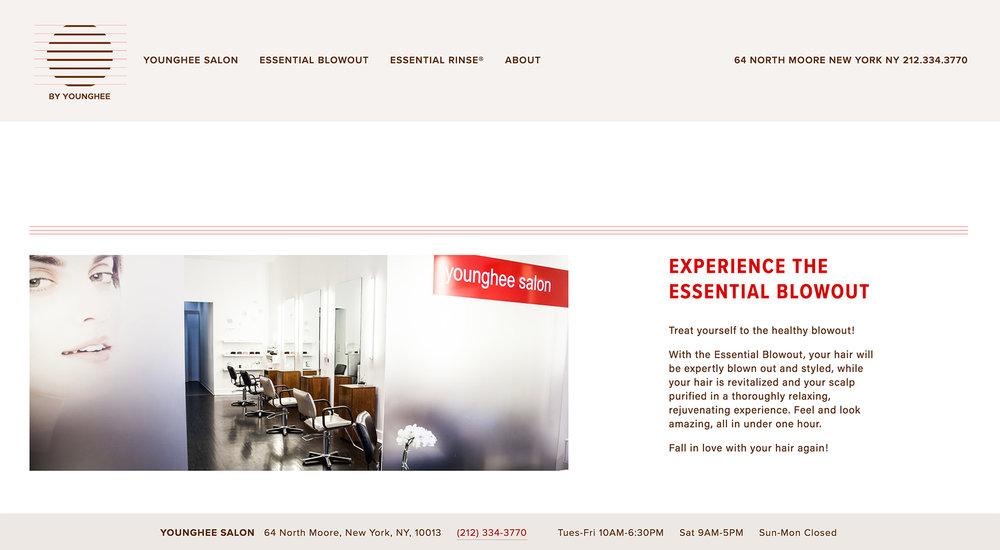 By Younghee Website designed by Two Eye Monkey