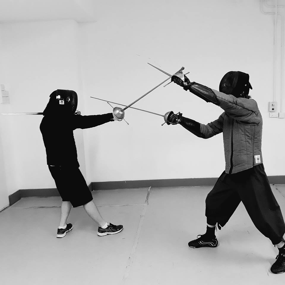 8 week sword and dagger/Shield                           course.