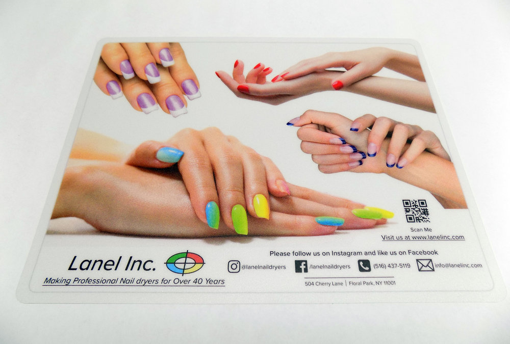- Check Out Our New Hand Mat Great For The Dryers and Manicurist Table. Also Available On Amazon.com