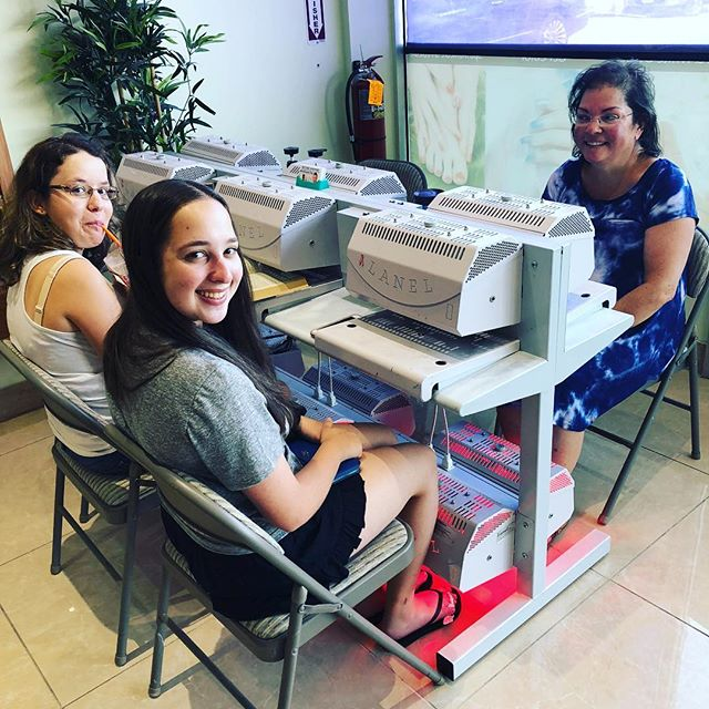 More happy customers. #lanel #lanelinc #lanelincorporated #nails💅 #naildryer #nailsupplies #nailsalon #nailsofinstagram #manicure #pedicure #madeintheusa #sheetmetal #nailart #spa #beautysalon #beautysupplies