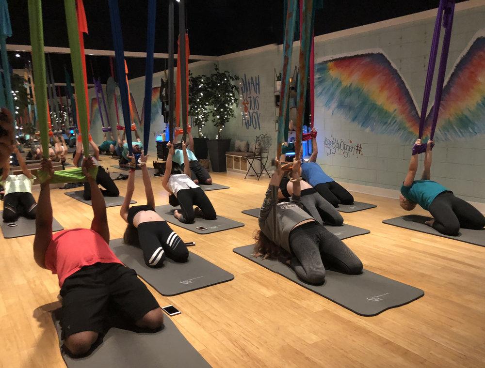 Aerial Yoga Public Class