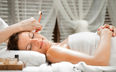 Ear Candling $50 - Ear candling clears wax and debris from the ear canal and relieves pressure from behind the eardrum.