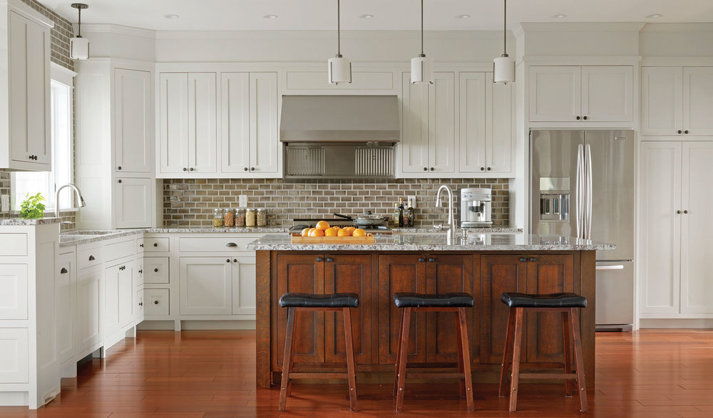Custom Kitchen Cabinets and Islands Simpson Cabinetry