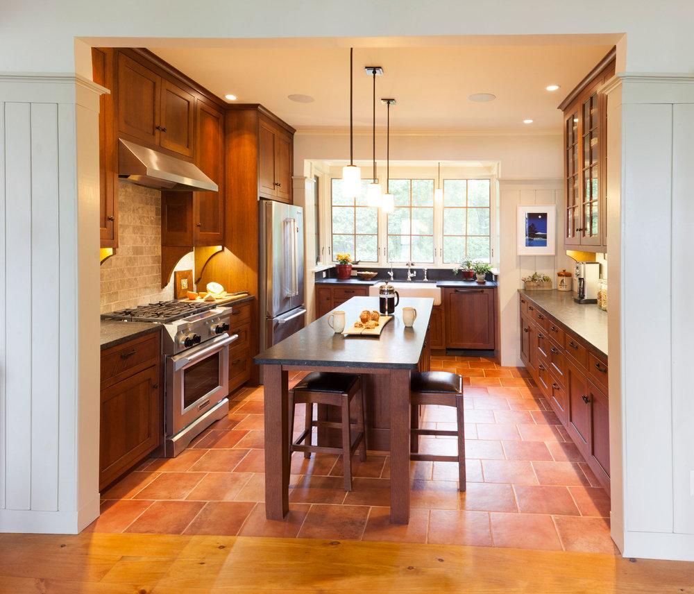 Craftsman Kitchen — Simpson Cabinetry