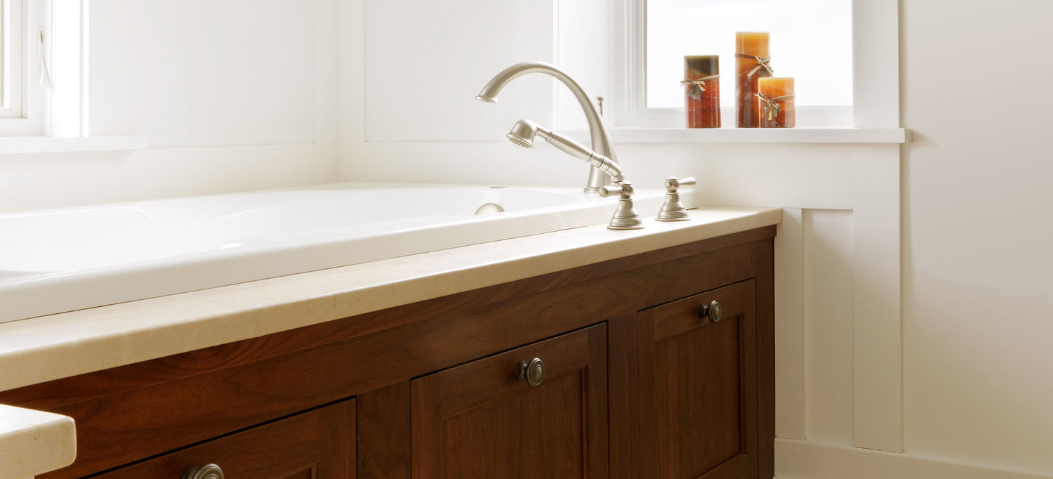 Custom Bathroom Vanities and Cabinets — Simpson Cabinetry