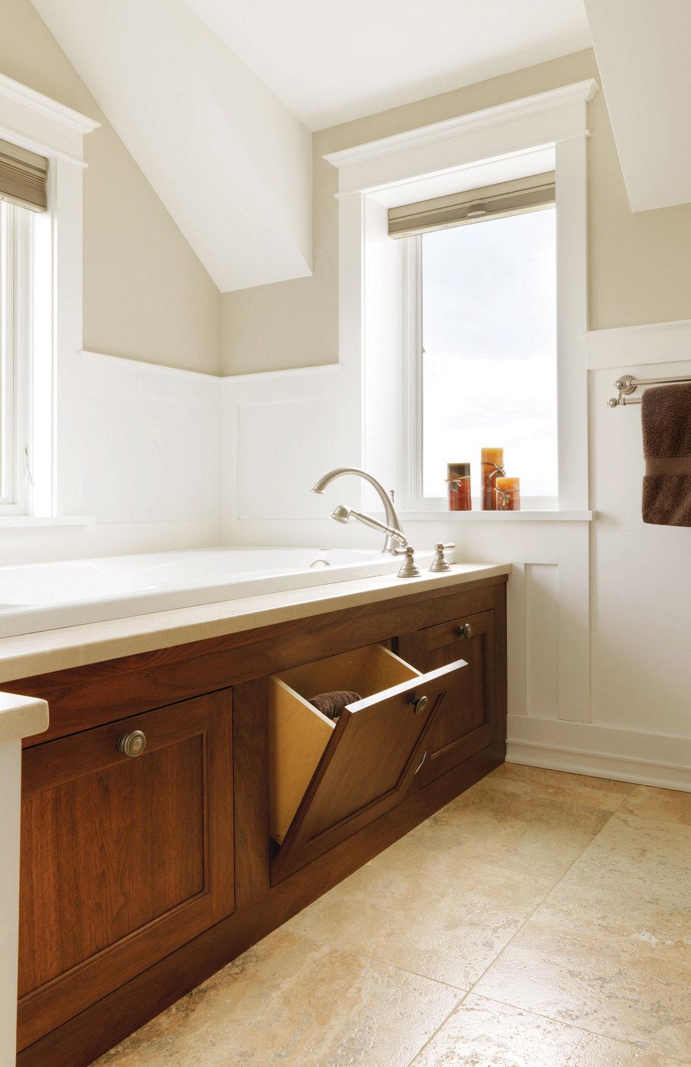 Cherry Bathroom Vanity — Simpson Cabinetry